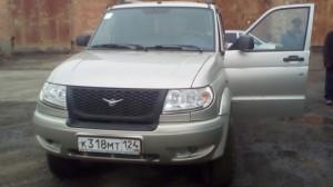 УАЗ патриот произведена установка ГЛОНАСС подключение к CAN шине