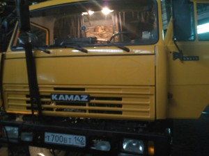 КАМАЗ 53215 Произведена установка тахографа ГЛОНАСС + ДУТ