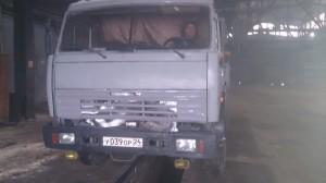 КАМАЗ 53215N Произведена установка тахографа ГЛОНАСС + ДУТ