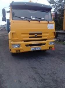КАМАЗ 65116-N3 Произведена установка тахографа ГЛОНАСС + ДУТ