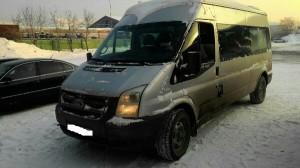Ford tranzit произведена установка системы ГЛОНАСС+ДУТ