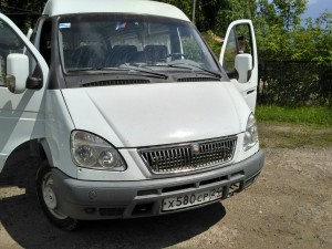 ГАЗ 332213 Произведена установка тахографа ГЛОНАСС + ДУТ
