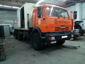 КАМАЗ 43118 произведена установка тахографа,ГЛОНАСС+ДУТ